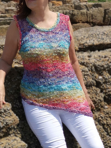 Makerist - Over the Rainbow Top - Knitting Showcase - 1
