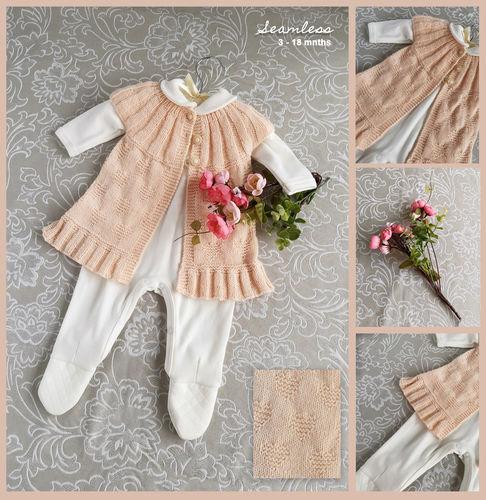 Makerist - Angel Heart Cardigan - NO SEAMS - NO SEWING - Knitting Showcase - 1