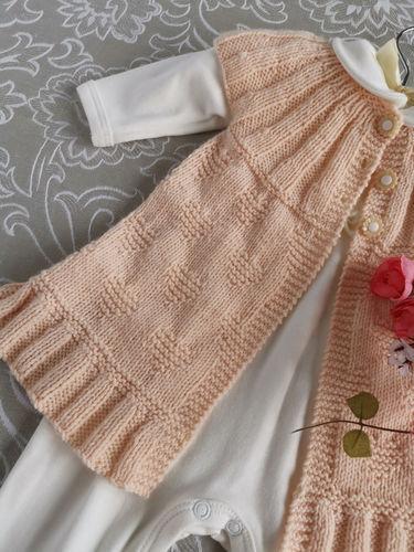 Makerist - Angel Heart Cardigan - NO SEAMS - NO SEWING - Knitting Showcase - 2