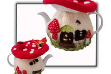 Makerist - FAIRY MUSHROOM TEA COSY - 1