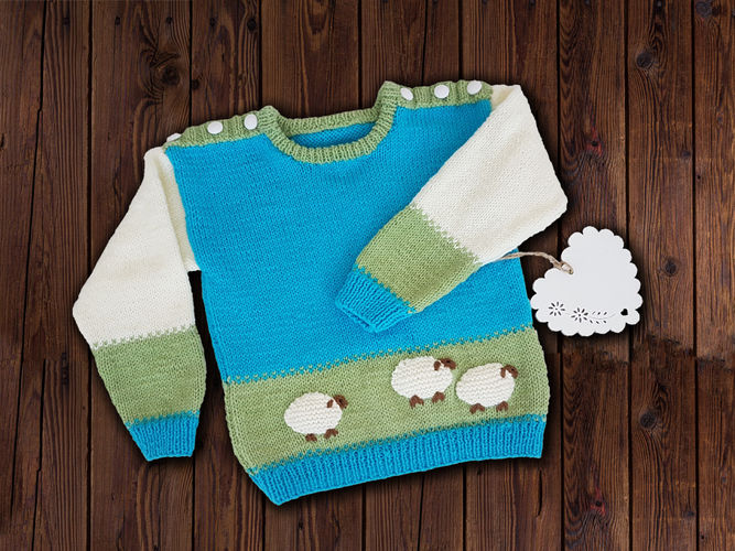 Makerist - Baa Baa Sweater Jumper - Knitting Showcase - 1