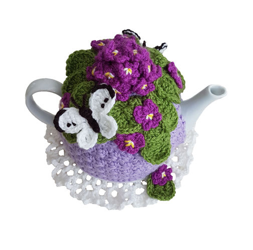 Makerist - Viola Posy Tea Cosy - Crochet Showcase - 2