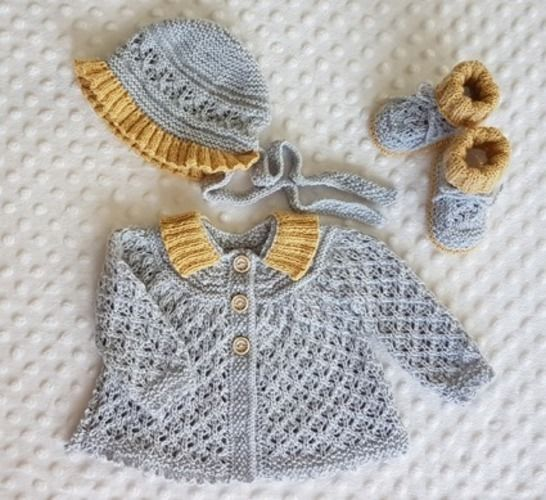 Makerist - Angel Lacy Baby Layette (0 - 12 months)  - Knitting Showcase - 1