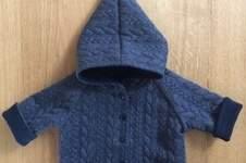 Makerist - Raglan-Babyjacke zum Wenden - 1