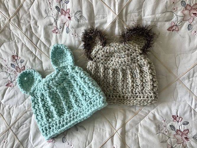 Makerist - Teddy Bear Hat 🧸  - Crochet Showcase - 1
