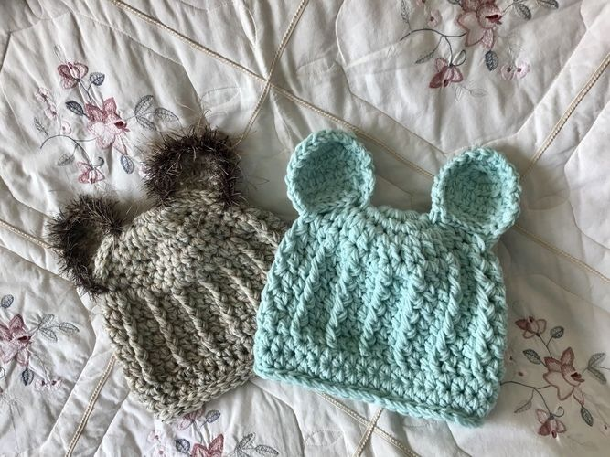 Makerist - Teddy Bear Hat 🧸  - Crochet Showcase - 2