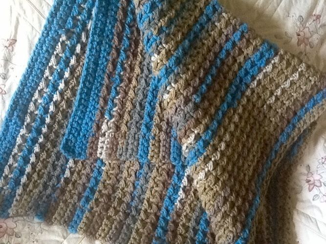 Makerist - Mosaic Baby Blanket - Crochet Showcase - 1