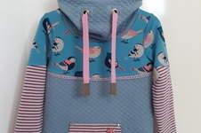 Makerist - Hoodie mit Vögelchen - 1