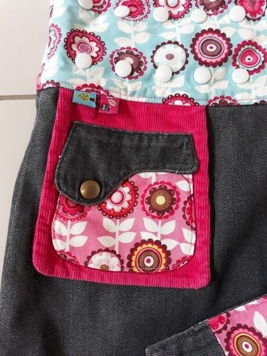 Makerist - Wenderock mit Jeansstoff Mädchen - Nähprojekte - 3