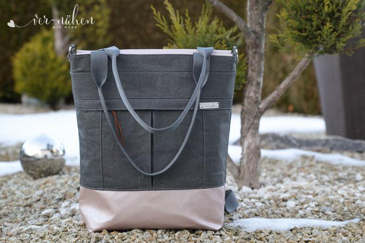 Makerist - Mila Uni Bag von Unikati - Nähprojekte - 1