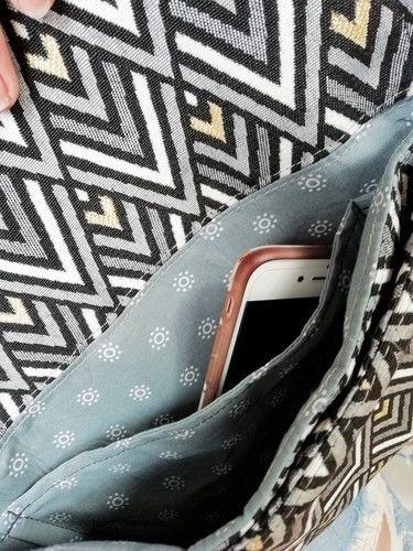 Makerist - meine Skara als Clutch - Nähprojekte - 3