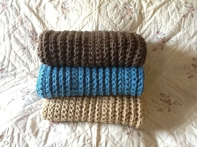 Makerist - Crocheted chunky throw - Crochet Showcase - 1