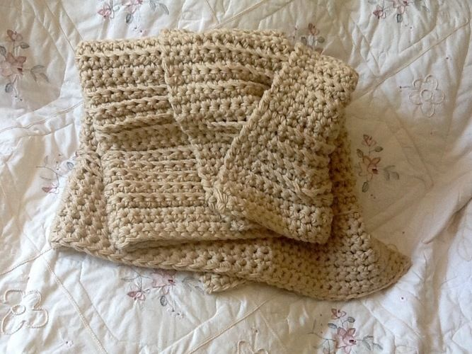 Makerist - Sandcastle throw - Crochet Showcase - 3