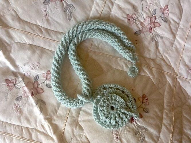 Makerist - Aquarius fiber pendant  - Crochet Showcase - 1