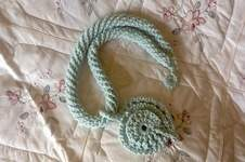 Makerist - Aquarius fiber pendant  - 1