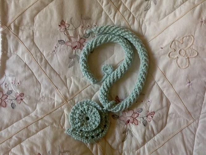 Makerist - Aquarius fiber pendant  - Crochet Showcase - 2