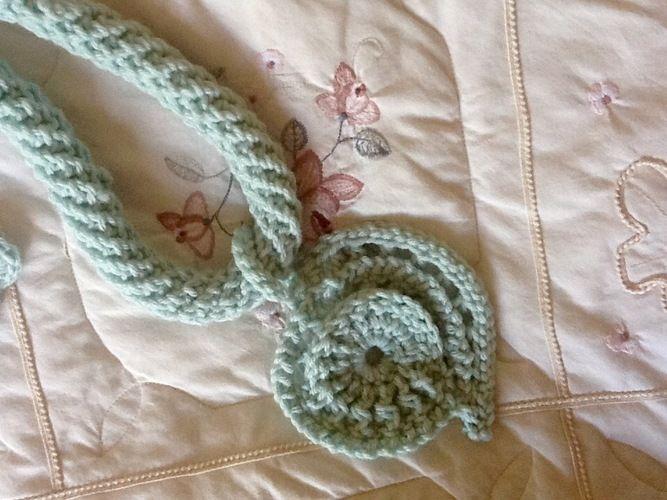 Makerist - Aquarius fiber pendant  - Crochet Showcase - 3