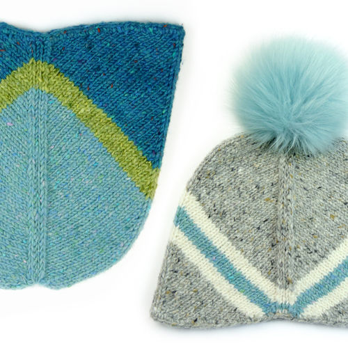 Makerist - UHURA, die galaktische Mütze - Strickprojekte - 1