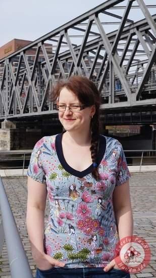 Makerist - Shirt Katja von Muckelie vielseitig und wandelbar - 1