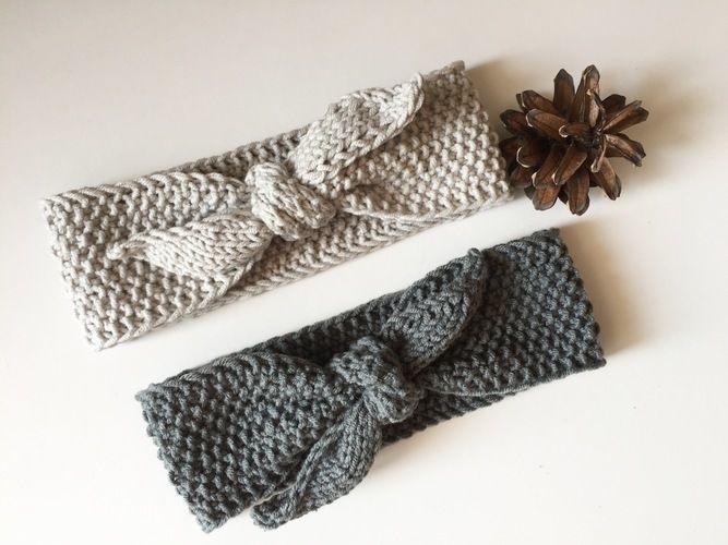 Makerist - Stirnband SOPHIA - Strickprojekte - 1