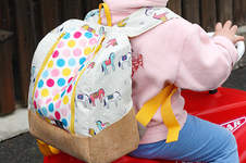 Makerist - rucksack KlapPack for my daughter - 1