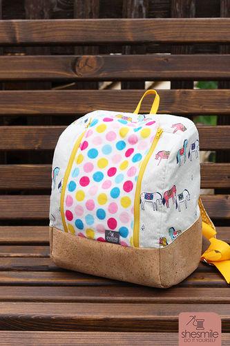 Makerist - rucksack KlapPack for my daughter - Sewing Showcase - 3
