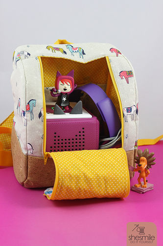 Makerist - Rucksack KlapPack for our Tonie-Box - Sewing Showcase - 1