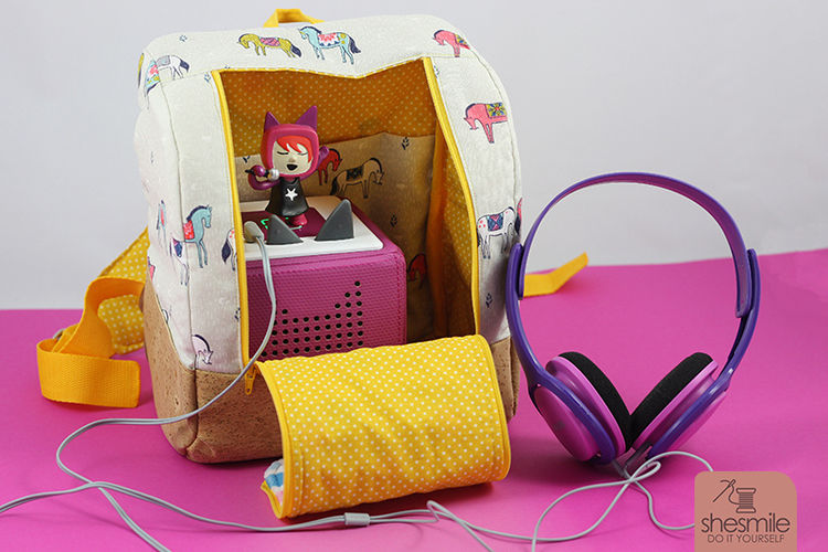 Makerist - Rucksack KlapPack for our Tonie-Box - Sewing Showcase - 3
