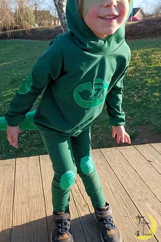 Makerist - Gecko-Kostüm - Nähprojekte - 2