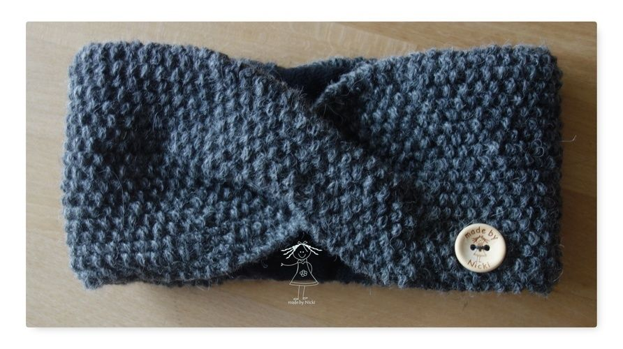 Makerist - Stirnband nach Anleitung von Lisibloggt - Strickprojekte - 1