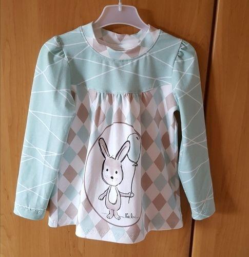 Makerist - Noch ein Girly-Shirt  für die Enkelin  - Nähprojekte - 1