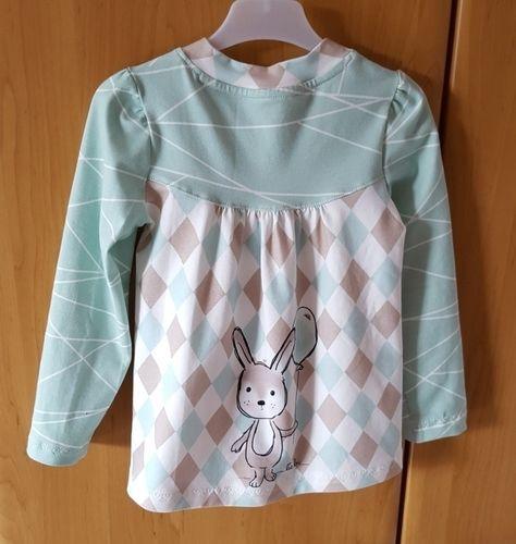 Makerist - Noch ein Girly-Shirt  für die Enkelin  - Nähprojekte - 2