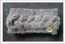 Makerist - Stirnband nach kostenloser Anleitung von namenbaender.de - 1