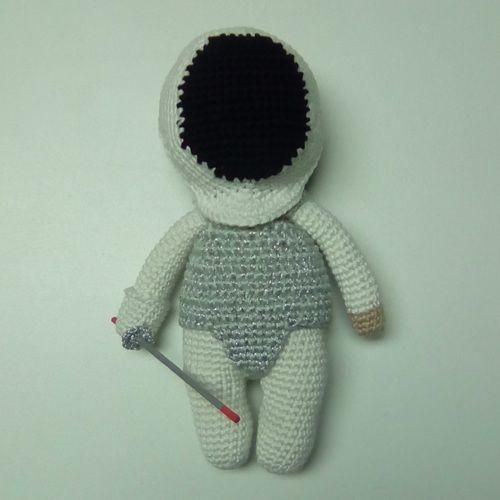 Makerist - Aramis l'escrimeur - Créations de crochet - 2