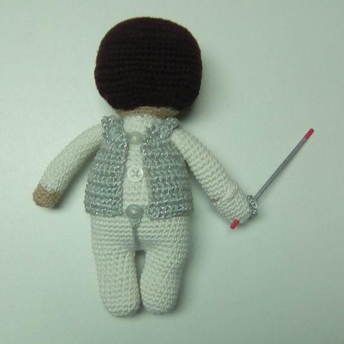 Makerist - Aramis l'escrimeur - Créations de crochet - 3