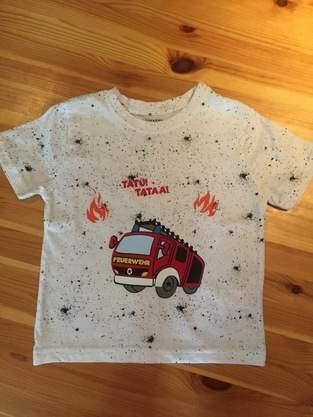 Makerist - Feuerwehr-Shirt - 1