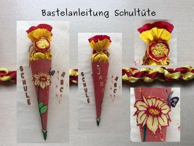 Makerist - Duftende Glitzer-Schultüte/Zuckertüte für Mädchen - DIY-Projekte - 1
