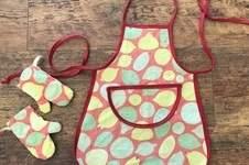 Makerist - Upcycling Kinder-Kochschürze und Ofenhandschuhe - 1