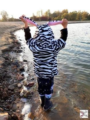 Kuschelfreund als süßes zebra
