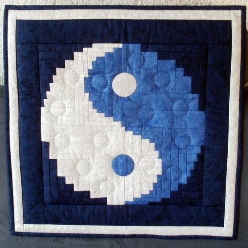Makerist - Yin und Yang für meine Shiatsu- Masseurinnen - Patchwork-Projekte - 1