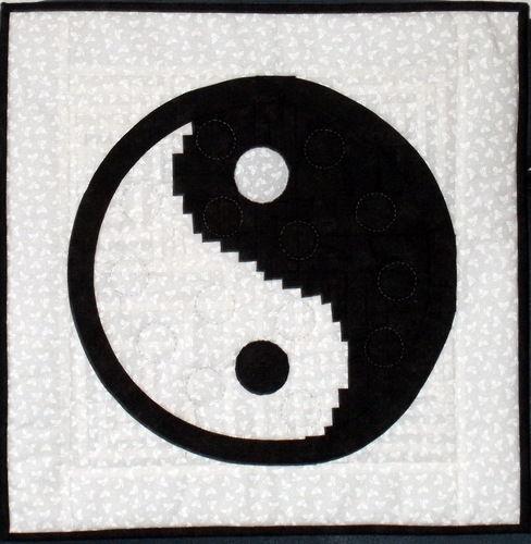 Makerist - Yin und Yang für meine Shiatsu- Masseurinnen - Patchwork-Projekte - 2