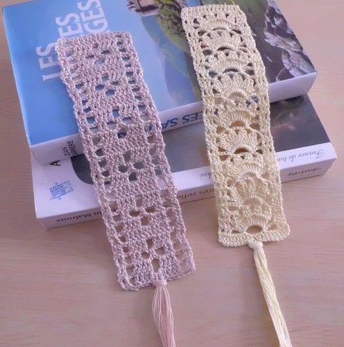 Makerist - Marque pages en dentelle fine au crochet !  - Créations de crochet - 1