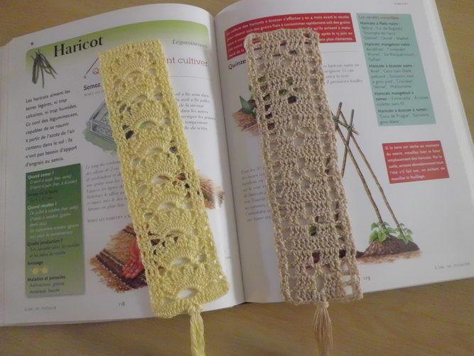 Makerist - Marque pages en dentelle fine au crochet !  - Créations de crochet - 2