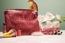 Makerist - Kosmetiktasche für Frauen aus Leder - 1