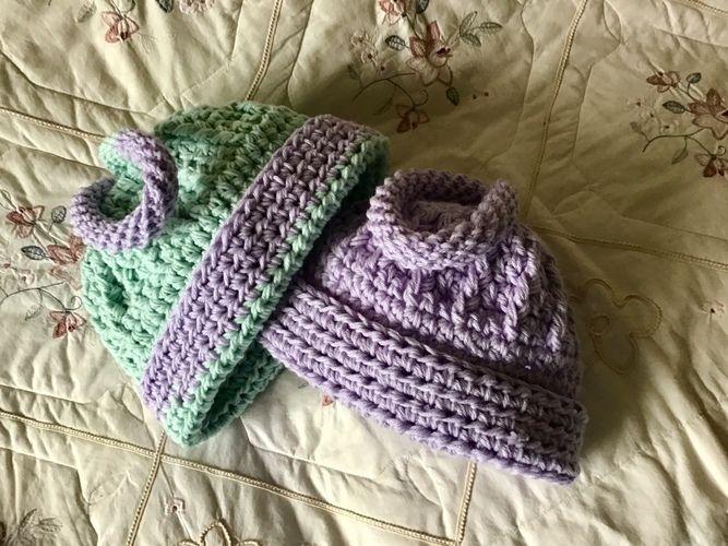 Makerist - Creamsicle Fiber Hat - Crochet Showcase - 2