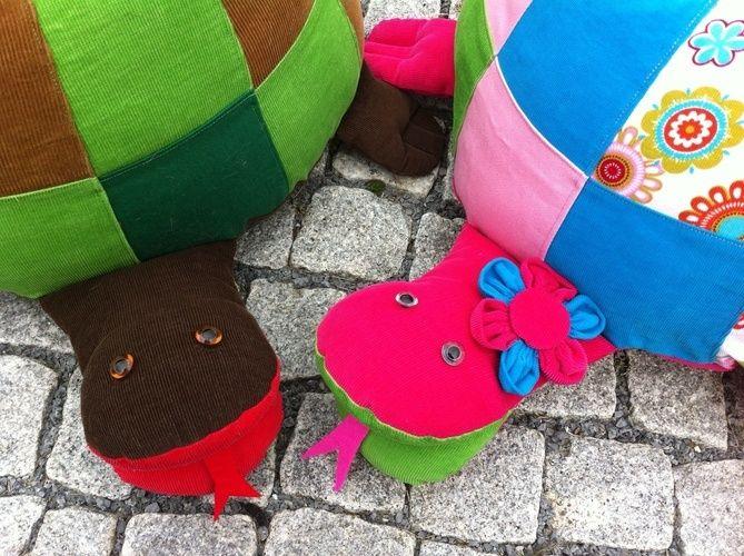 Makerist - Sitzkissen Schildkröte - Nähprojekte - 1