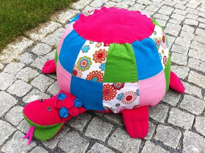 Makerist - Sitzkissen Schildkröte - Nähprojekte - 2