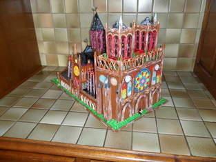 Notre Dame de Paris (Vannerie & Quilling)