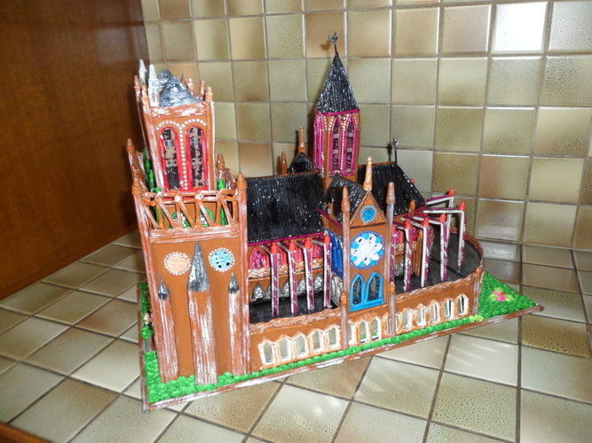 Makerist - Notre Dame de Paris (Vannerie & Quilling) - Autres créations - 2