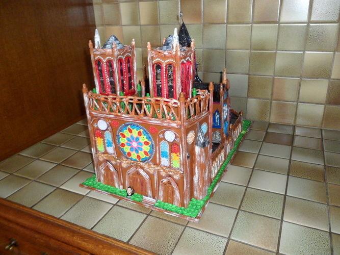 Makerist - Notre Dame de Paris (Vannerie & Quilling) - Autres créations - 3